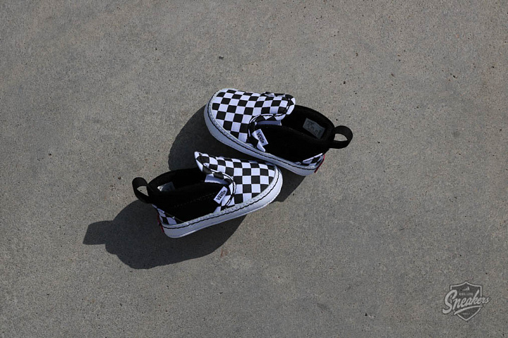 Slip-on V  Checker/Black Crib  (1)