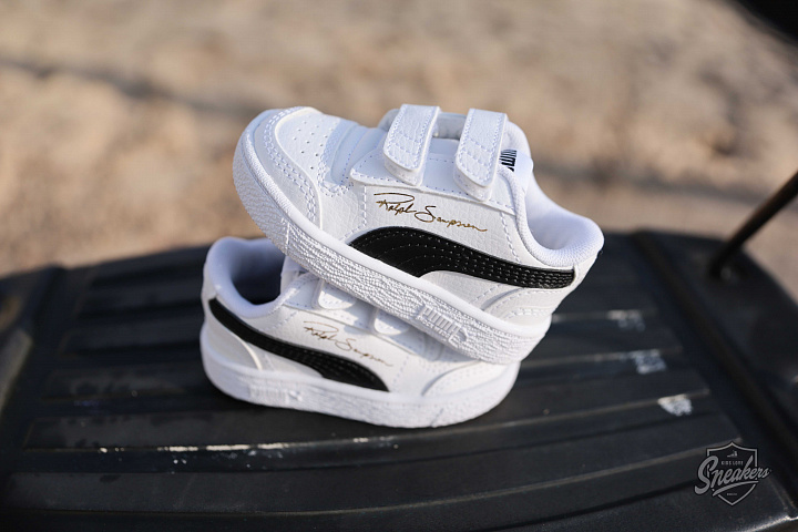Ralph Sampson low White/black TS (3)