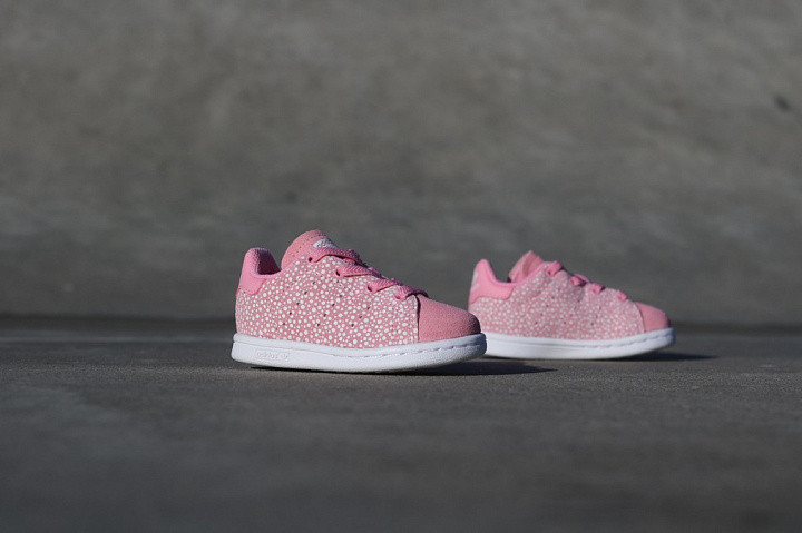 Stan smith Glow/Spikkels Pink TS (0)