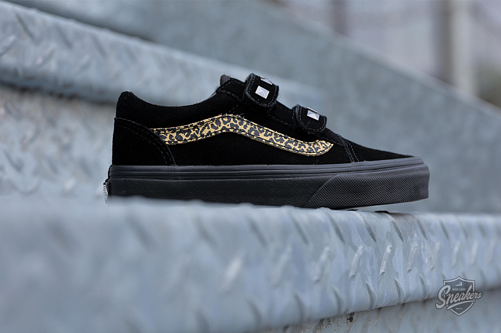 Old skool Stud Black Leopard PS (0)