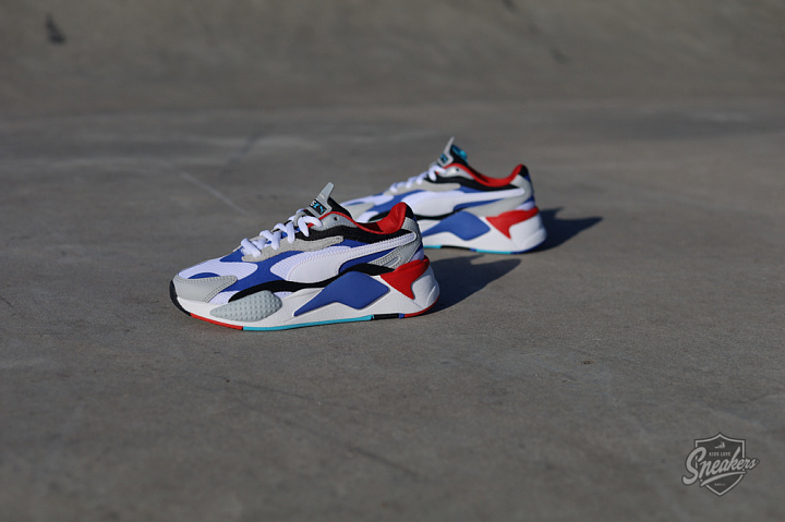 Rs-X Puzzle White/dazzling blue/red GS (0)