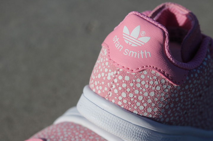 Stan smith Glow/Spikkels Pink TS (2)