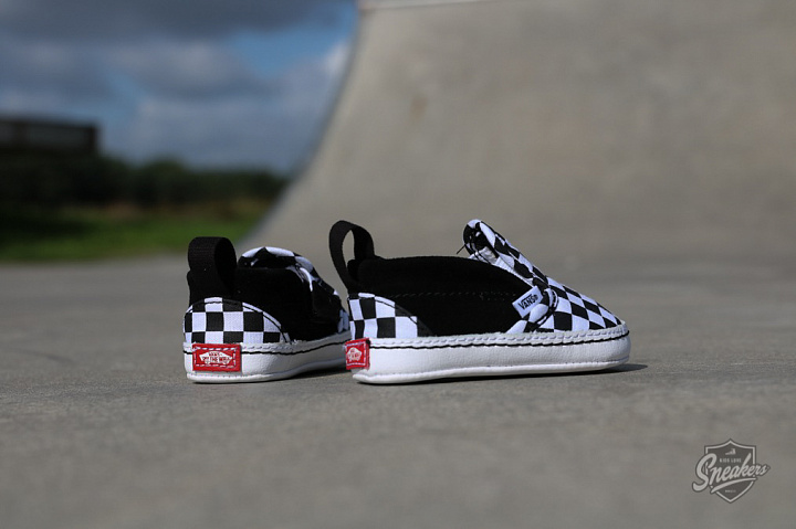 Slip-on V  Checker/Black Crib  (3)