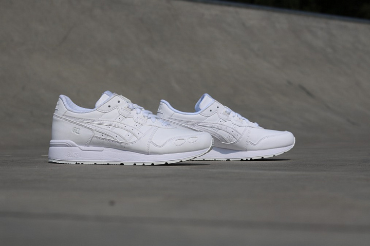 Gel-lyte White/White Leather GS (2)