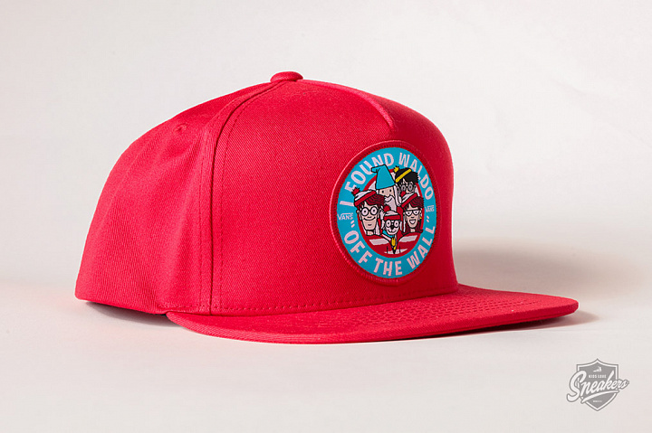 X Where's Waldo? 5-Panel Snapback Racing Red Child (1)