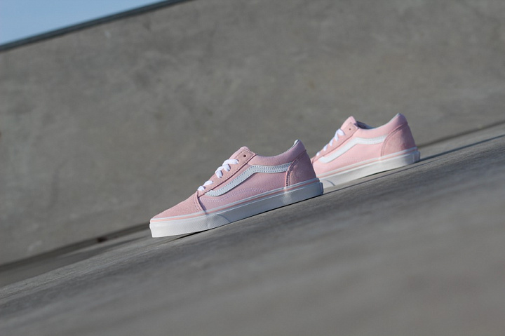 Old skool Pink/White GS (0)