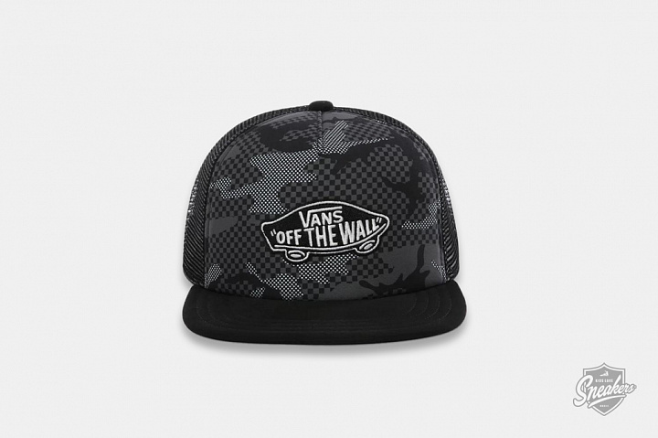 Classic Patch Trucker Cap Checker Camo Child (0)