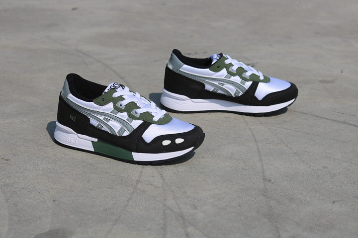 Gel-lyte White/Army Green PS (3)