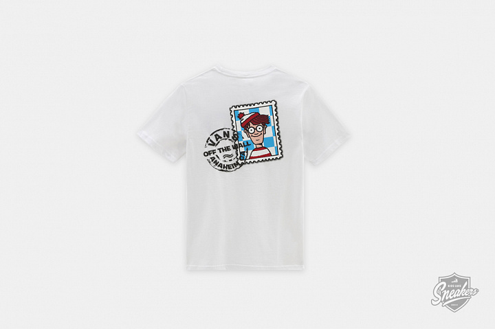 X Where's Waldo? Stamp T-shirt Postage GS (0)