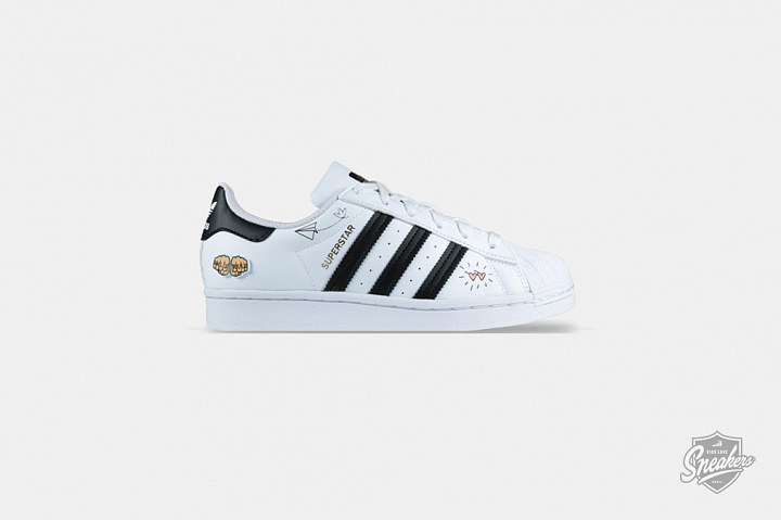 Superstar Graphic Cloud White Core Black GS (0)