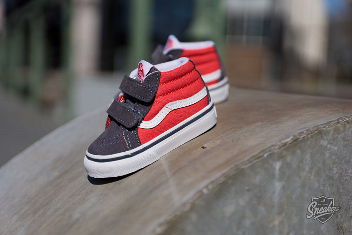 Sk8-mid Red/Grey TS (4)