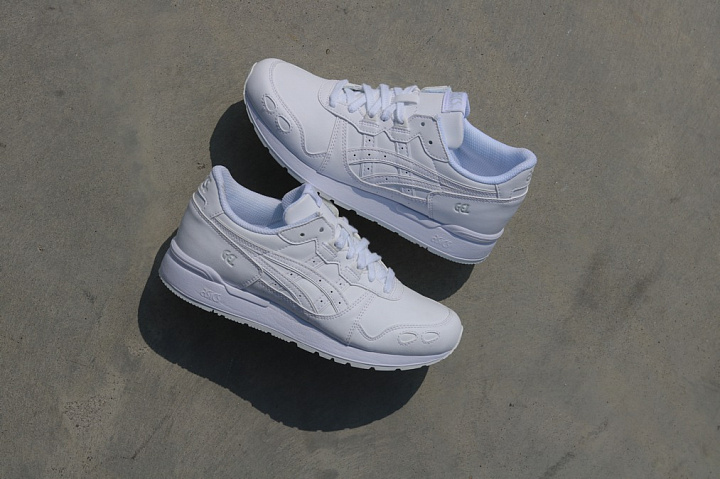 Gel-lyte White/White Leather GS (0)