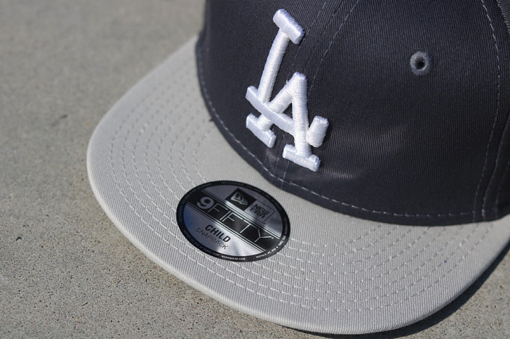 9fifty LA Dodgers Grey/Silver Child (2)