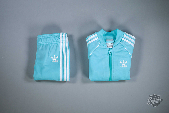Superstar set aqua/white TS (0)