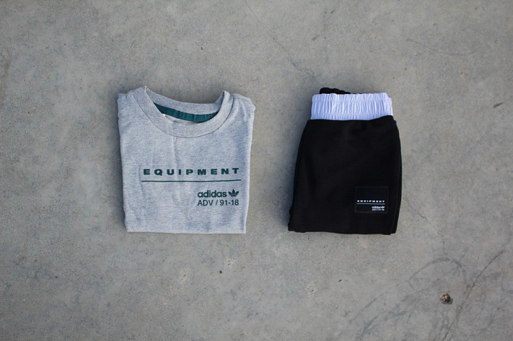 Set EQT Tee/Pants Grey/Black (1)