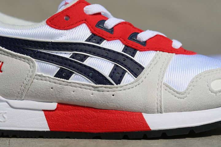 Gel-lyte White/Red/Navy PS (4)