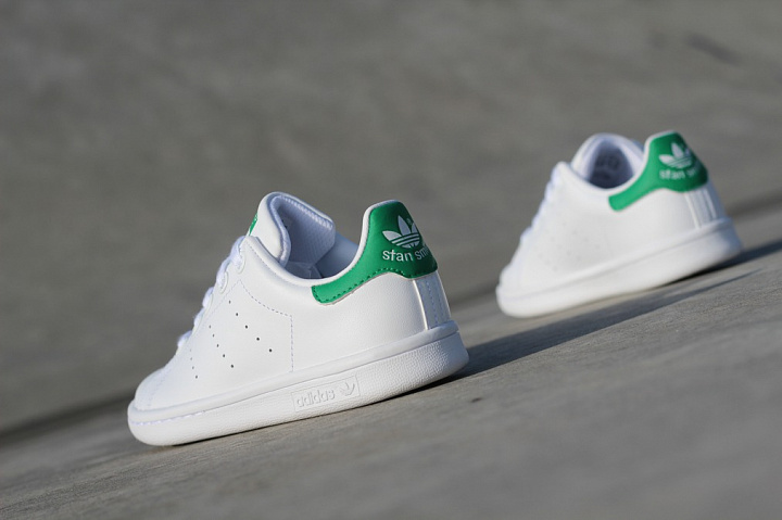 factory price 9d22a 80422 Stan smith O.G White/Green PS Wit