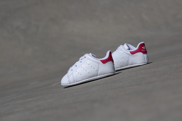 Stan smith White/Pink Crib (0)
