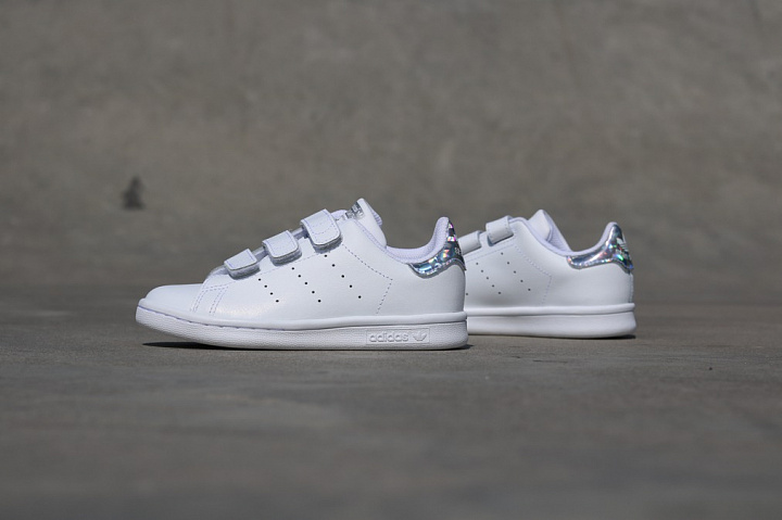 Stan Smith White/Metsil Velcro PS (0)