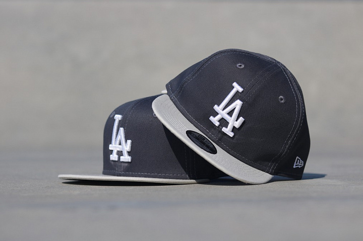 9FIFTY LA Grey/Silver Youth (5)
