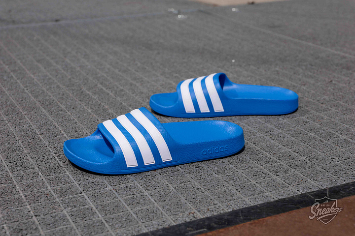 Adilette aqua blue white gs (0)