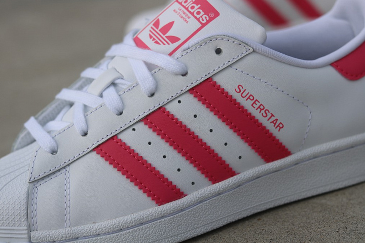Superstar White/PInk  GS (4)