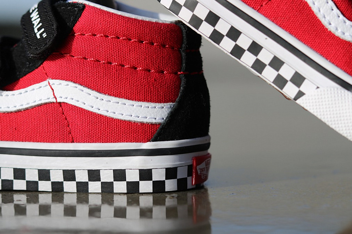 Sk8-mid Reissue Red/Black Checker TS (3)