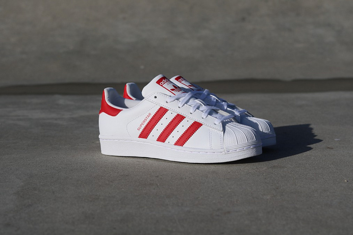 Superstar White/Red GS (4)