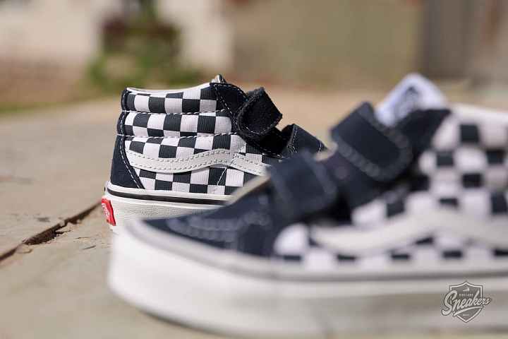 Sk8-Mid Checkerboard/Navy PS (1)