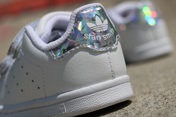 Stan smith White/Metsil velcro TS (4)