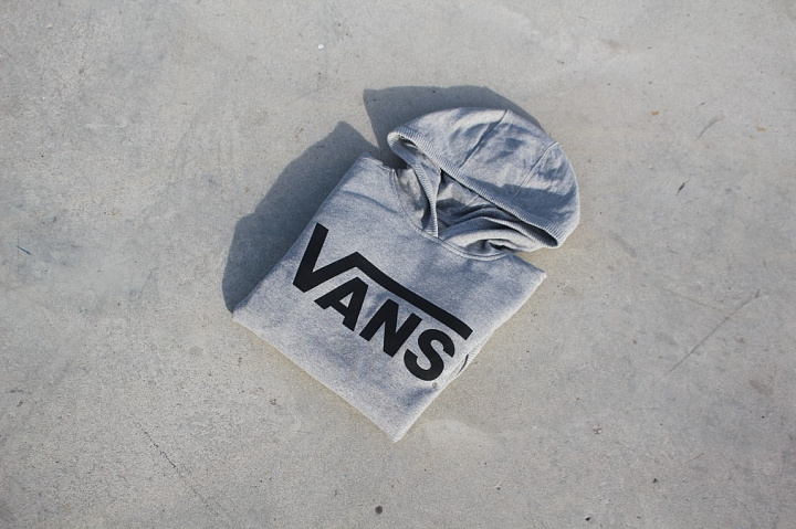 Hooded Sweater Vans Grey Kids (0)