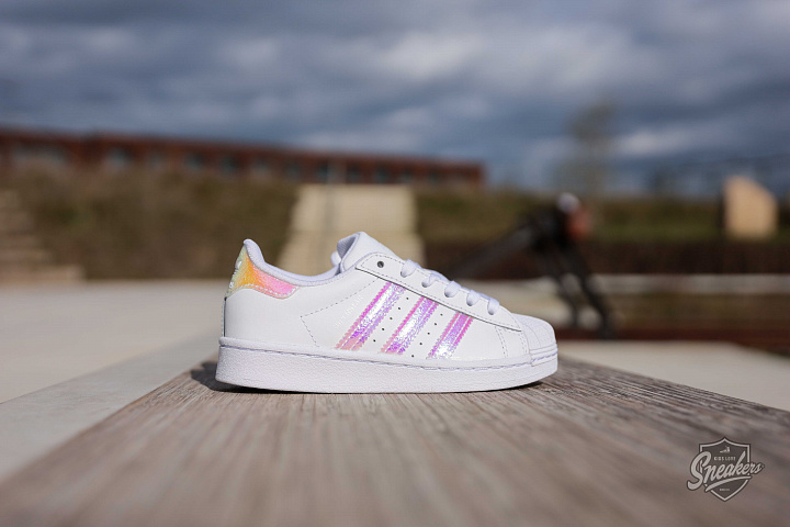 Superstar white/iridescent PS (0)