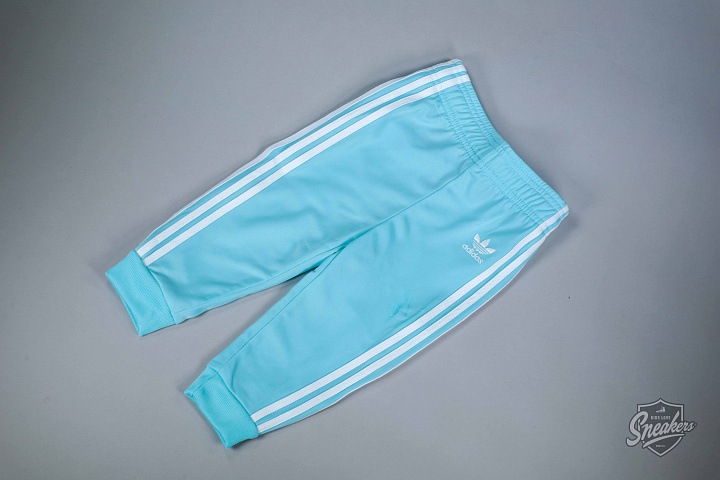 Superstar set aqua/white TS (2)