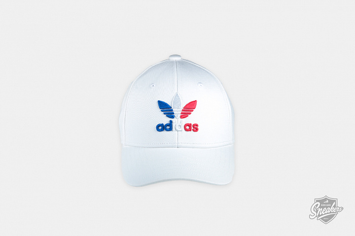 Baseball Cap White Royal Blue Child (0)