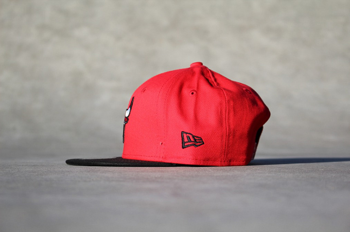 9FIFTY Chicago Bulls Red/Black Child (1)