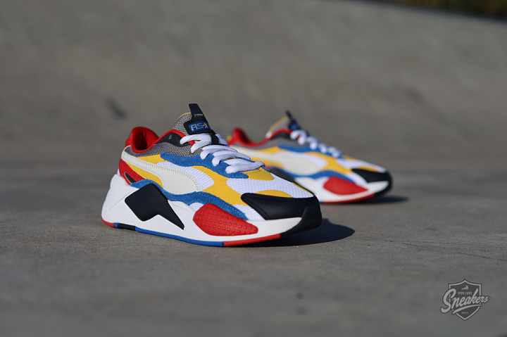 Rs-X Puzzle white-spectra/yellow GS (0)