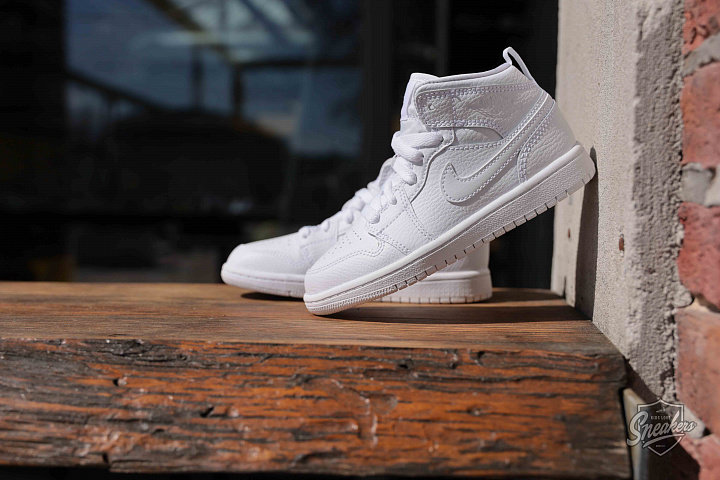 Jordan 1 mid white PS (0)