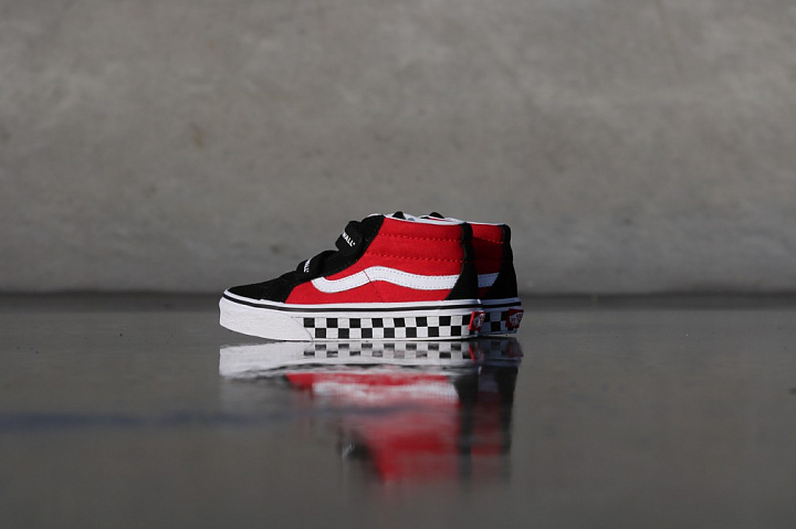 Sk8-mid Reissue Red/Black Checker PS (3)