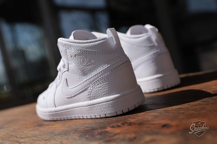 Jordan 1 mid white PS (5)