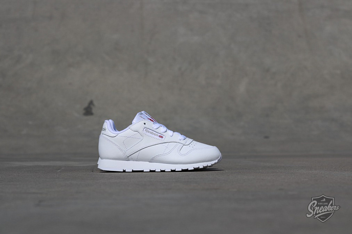 Classic Leather O.G White/White PS (2)