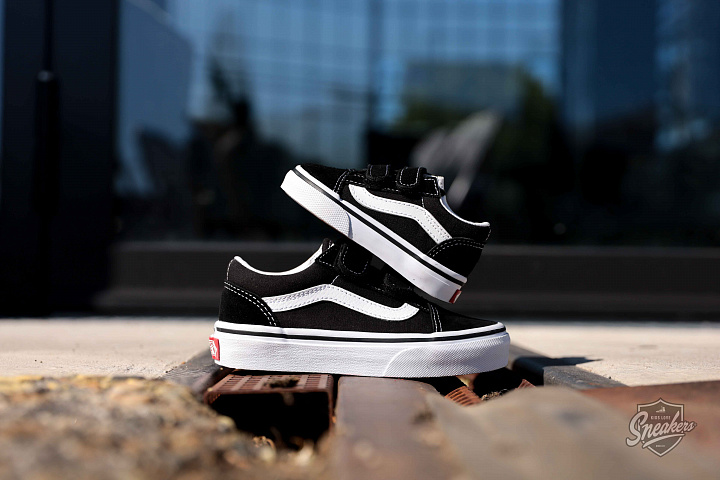 Old Skool O.G. Black/White TS (2)