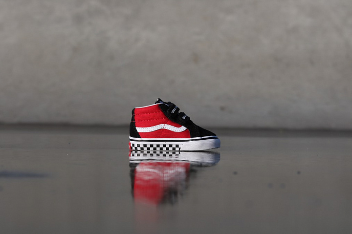 Sk8-mid Reissue Red/Black Checker TS (7)