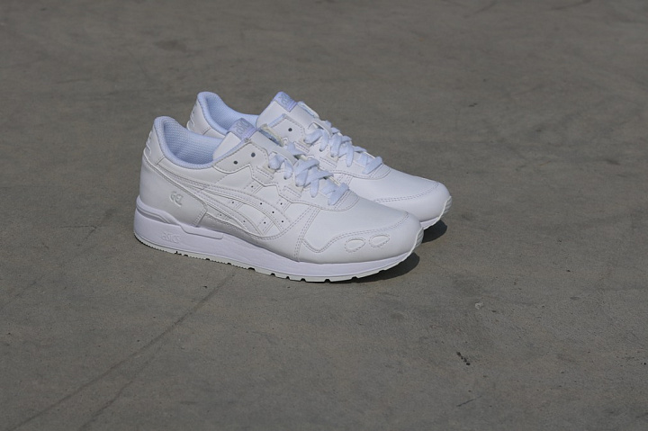 Gel-lyte White/White Leather GS (3)