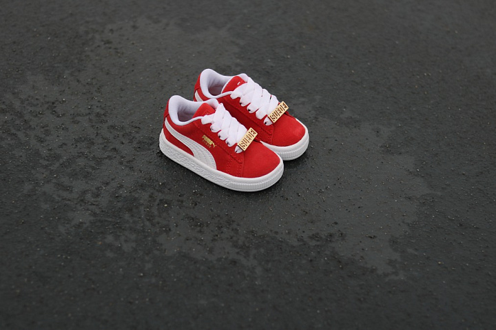 Suede classic bboy red-flame (1)