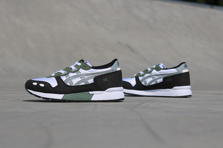 Gel-lyte White/Army Green PS (4)