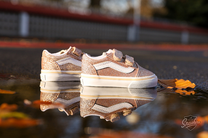 Old Skool V Glitter Brazilian Sand True White TD (0)