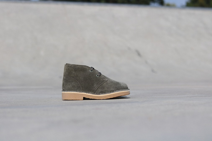 Desert Boot Olive Suede TS  (1)