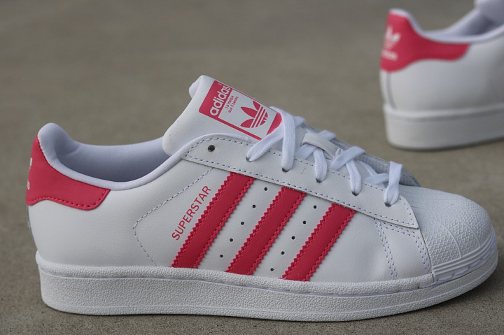 Superstar White/PInk  GS (5)