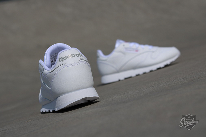 Classic Leather O.G White/White PS (3)