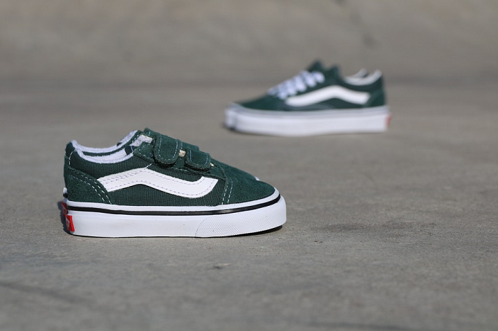 Old skool Green/White TS (4)